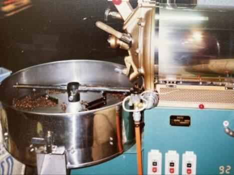 30年前の焙煎機