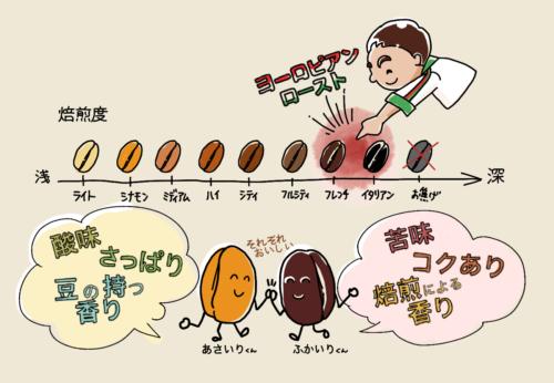 焙煎の8段階